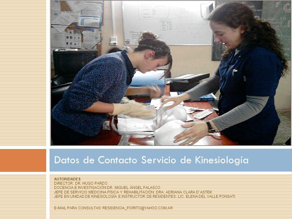 AUTORIDADES DIRECTOR: DR. HUGO PARDO DOCENCIA E INVESTIGACIÓN:DR.