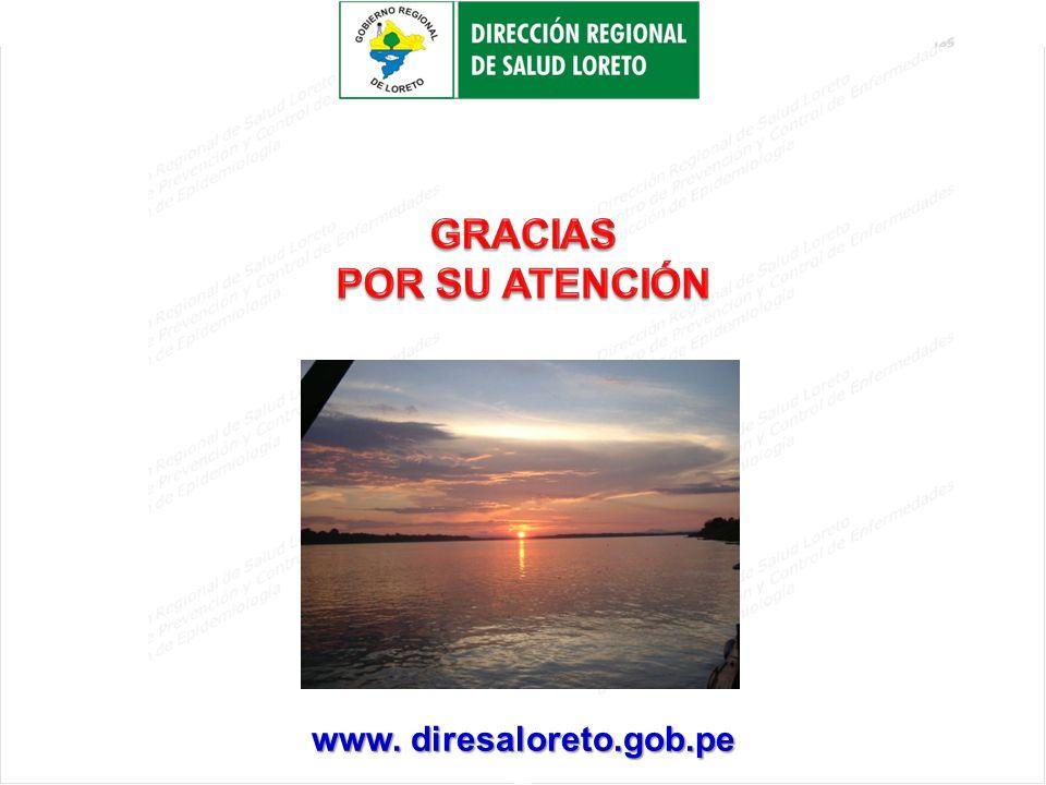 H www. diresaloreto.gob.pe