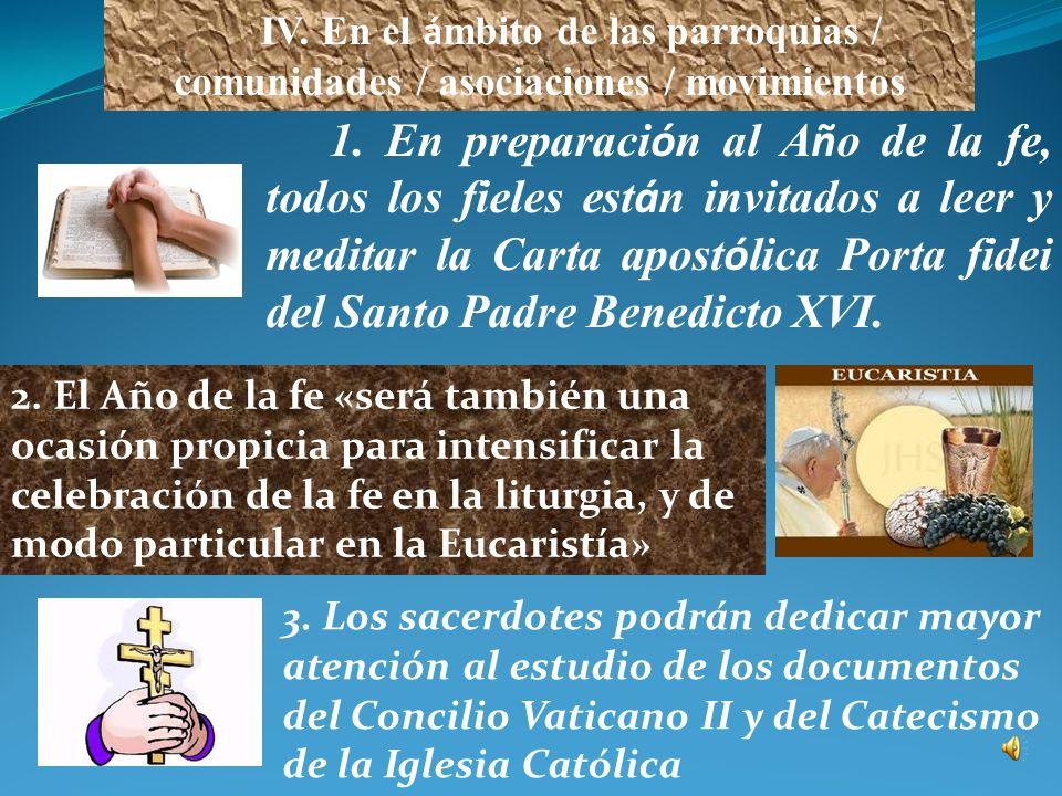 7. Se invita a los Obispos a organizar celebraciones penitenciales, particularmente durante la cuaresma, en las cuales se ponga un énfasis especial en