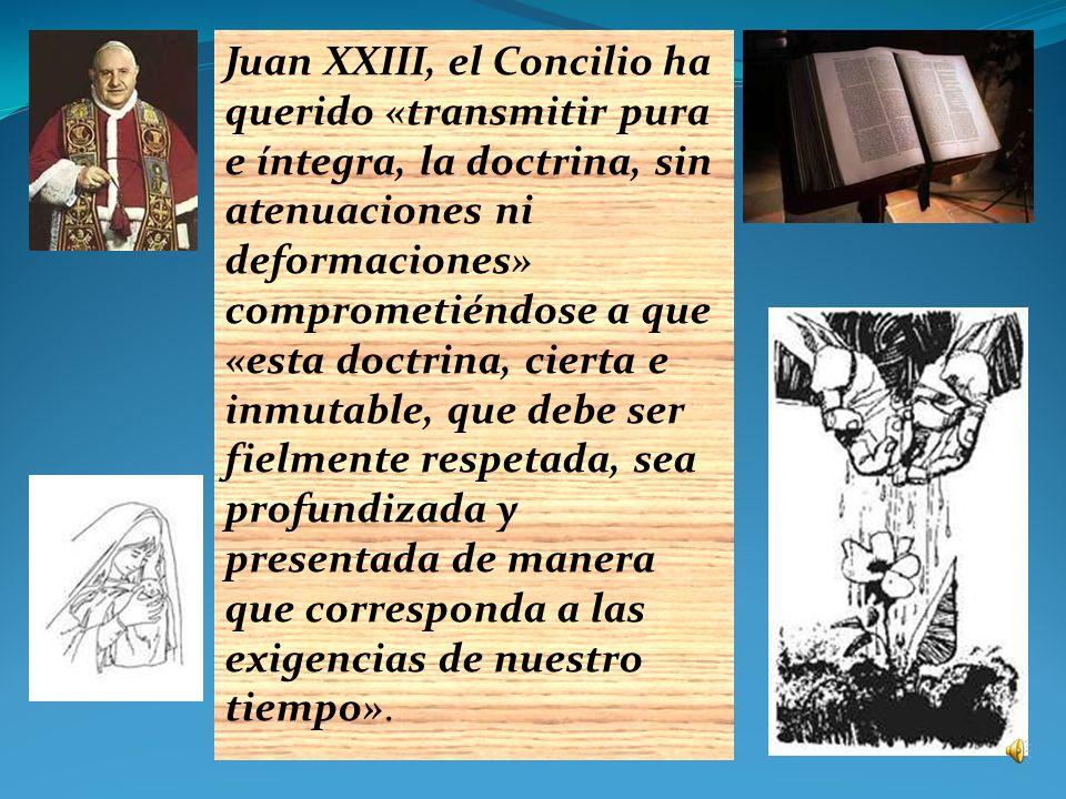 los cincuenta años pasados desde la apertura del Concilio Vaticano II por voluntad del Beato Juan XXIII (1 de octubre de 1962) y los veinte años desde la promulgación del Catecismo de la Iglesia Católica, legado a la Iglesia por el Beato Juan Pablo II (11 de octubre de 1992).