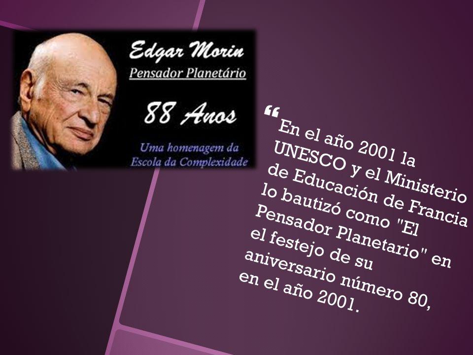 En el año 2001 la UNESCO y el Ministerio de Educación de Francia lo bautizó como