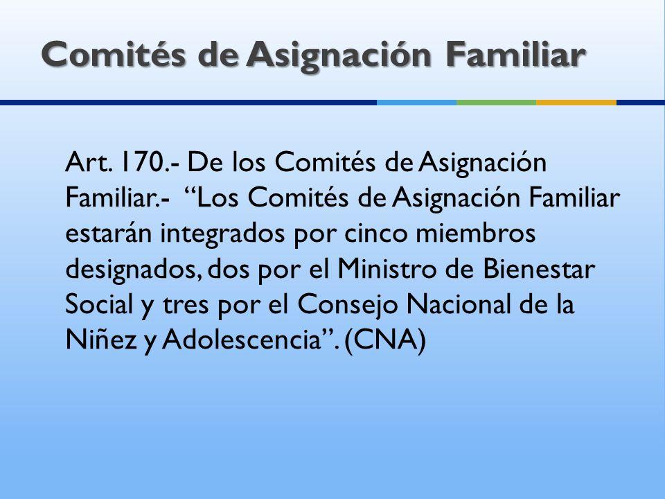 COMITÉ DE ASIGNACIÓN FAMILIAR Regional Norte Regional Sur Regional Costa 3