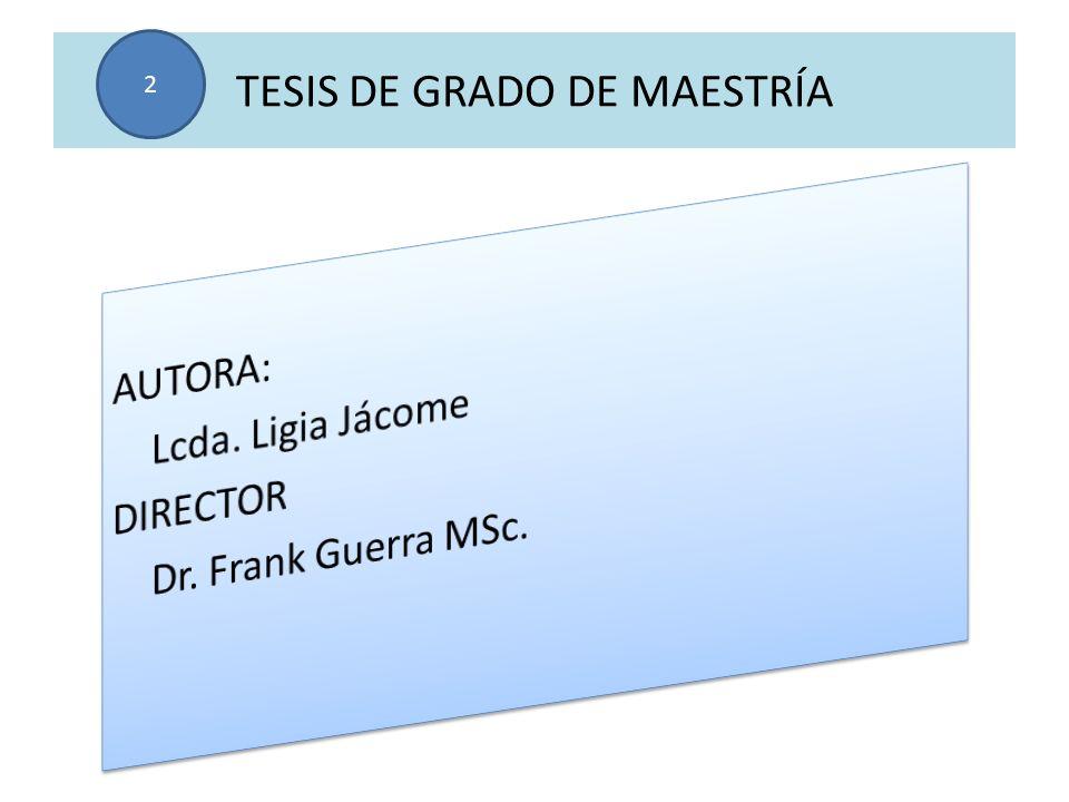 TESIS DE GRADO DE MAESTRÍA 2