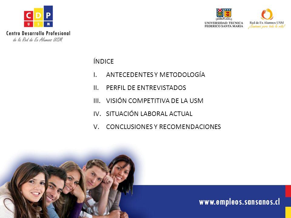 www.empleos.sansanos.cl En primer lugar, continuar realizando este estudio de manera anual para tener un elemento de comparación continua.
