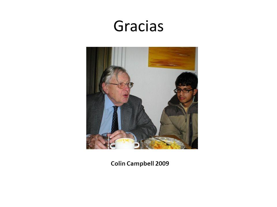 Gracias Colin Campbell 2009