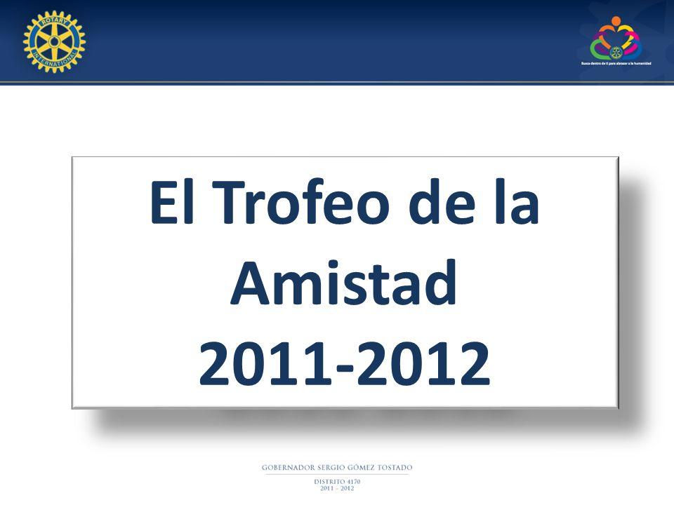 El Trofeo de la Amistad 2011-2012 El Trofeo de la Amistad 2011-2012