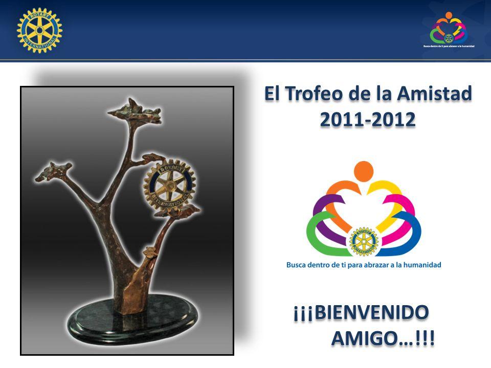 El Trofeo de la Amistad 2011-2012 El Trofeo de la Amistad 2011-2012 ¡¡¡BIENVENIDO AMIGO…!!!