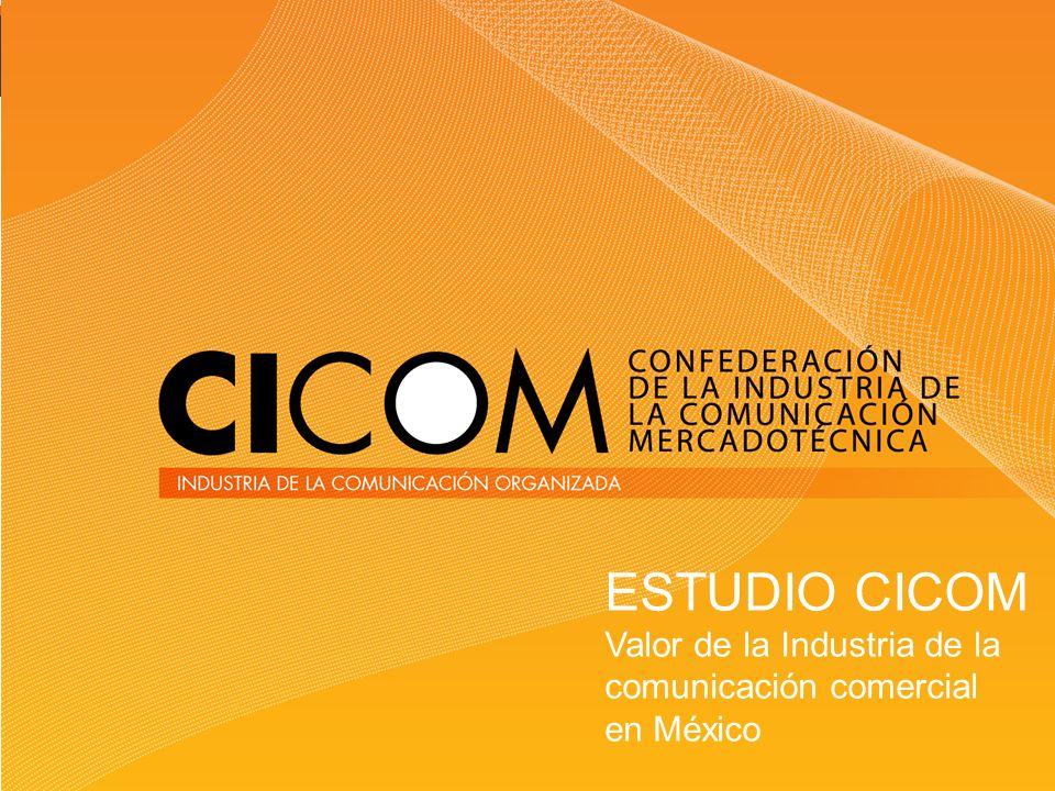 ESTUDIO CICOM Valor de la Industria de la comunicación comercial en México