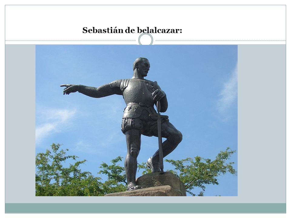 Sebastián de belalcazar: