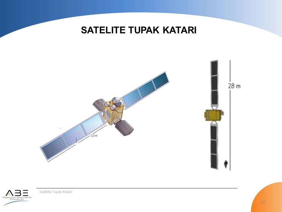 16 SATELITE TUPAK KATARI Satélite Tupak Katari