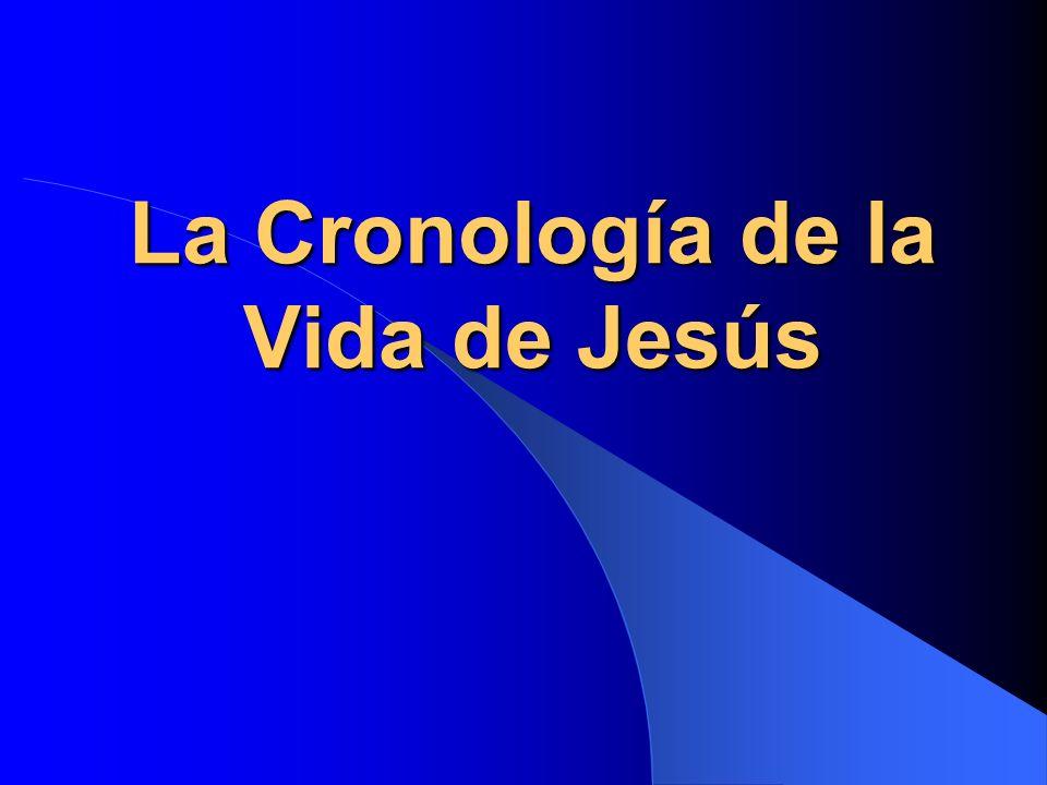 El comienzo de su ministerio El año 15 de Tiberio César (Luc 3:1) = 26 – 29 d.C.
