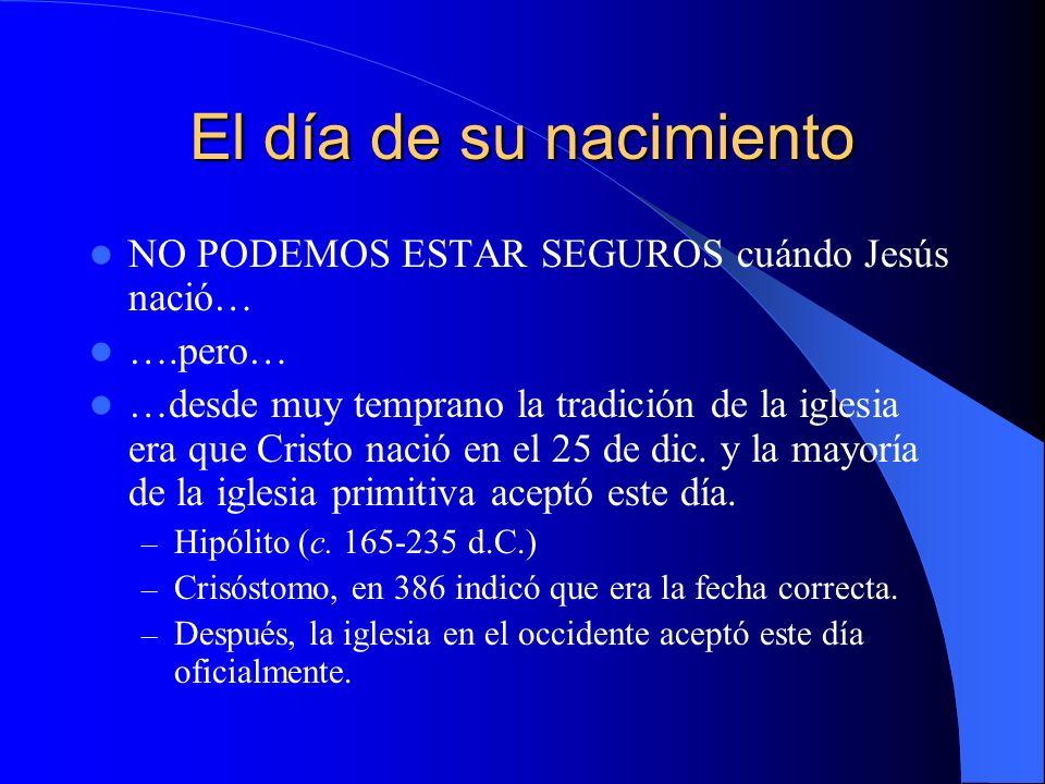 El Año de la Crucifixión La pascua siempre caía el 14 de Nisan.