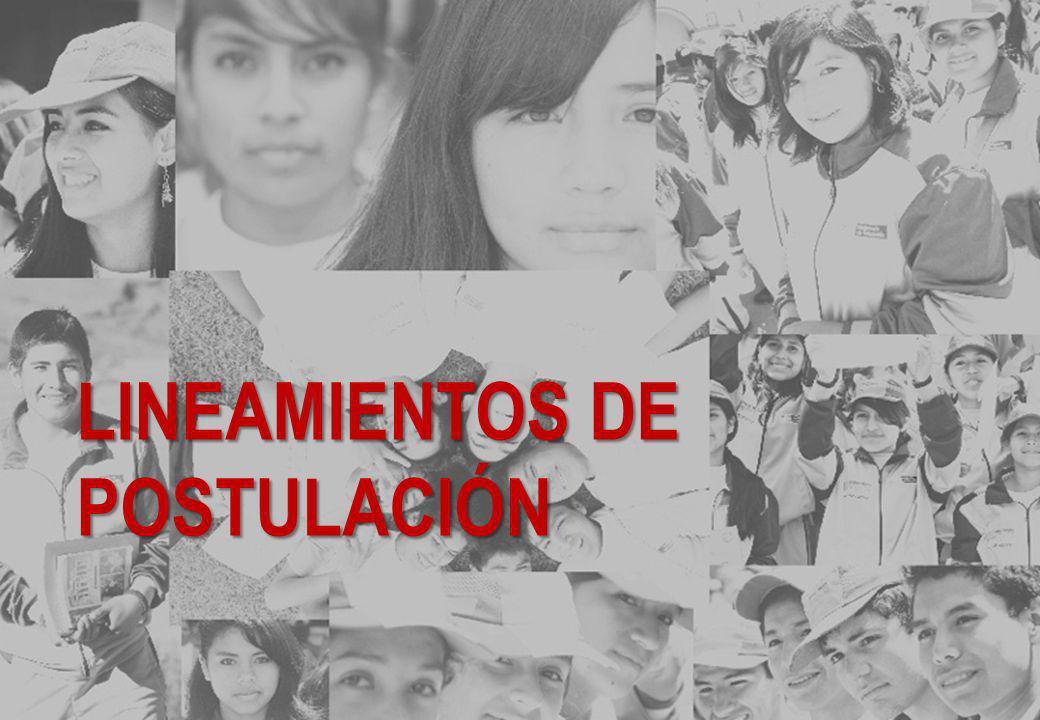 LINEAMIENTOS DE POSTULACIÓN