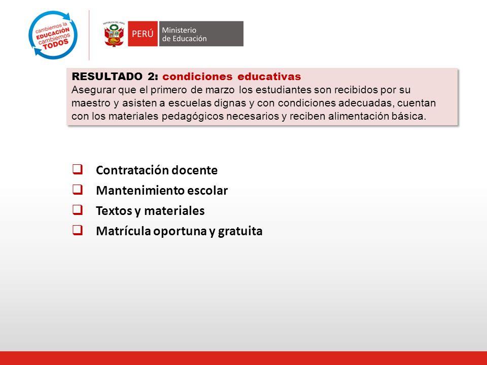 Instalación de las comisiones de Gestión intergubernamental: Gobiernos Regionales-Ministerio de Educación 26 Enero – 15 de febrero.
