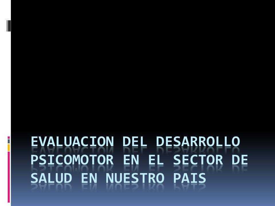 Escala de evaluación del DSM de 0 a 2 años (EEDP)