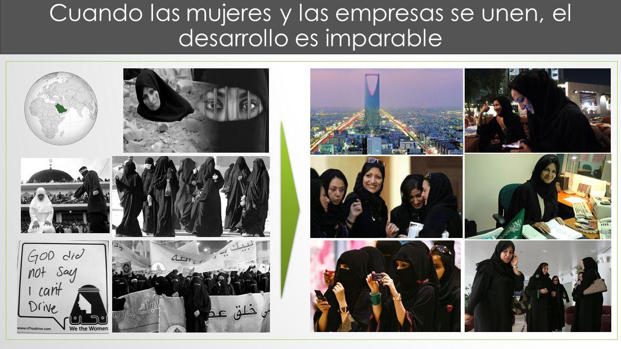 Cuando las mujeres y las empresas se unen, el desarrollo es imparable