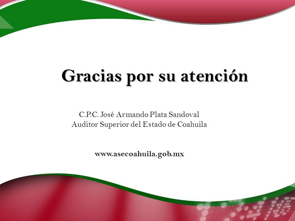 Gracias por su atención C.P.C.