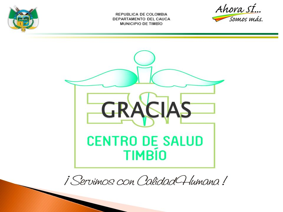 REPUBLICA DE COLOMBIA DEPARTAMENTO DEL CAUCA MUNICIPIO DE TIMBÍO GRACIAS