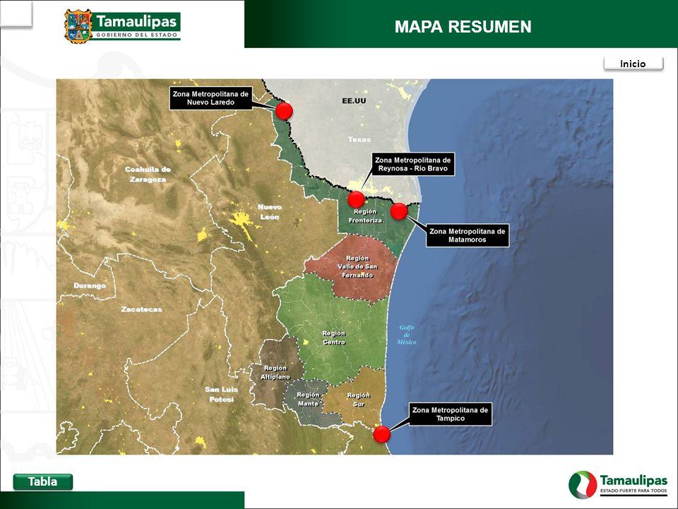 Localización de proyectos * En el año 2011 se asignaron 37.25 mdp (Obra en proceso de ejecución).