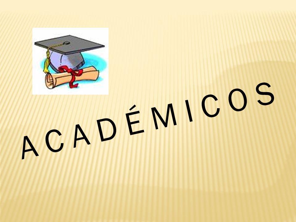 Académicos y Formativos