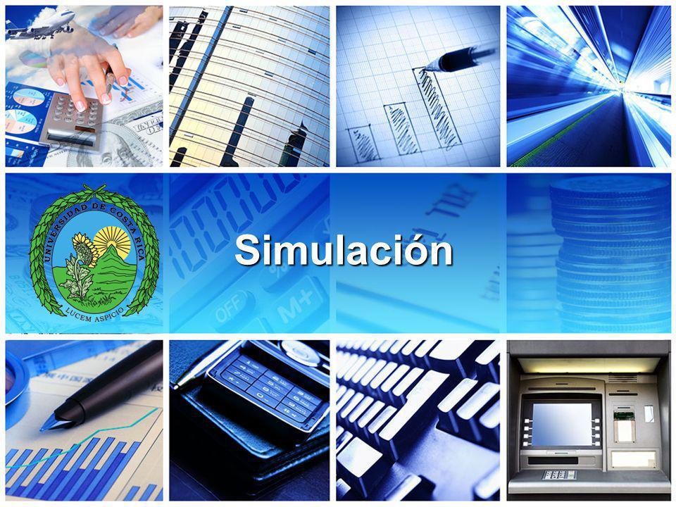 Simulación La simulación implica construir una replica de algún sistema real y usarlo bajo condiciones de prueba Los modelos matemáticos se construyen y utilizan para comprobar los resultados de decisiones antes de aplicarlas en la realidad.