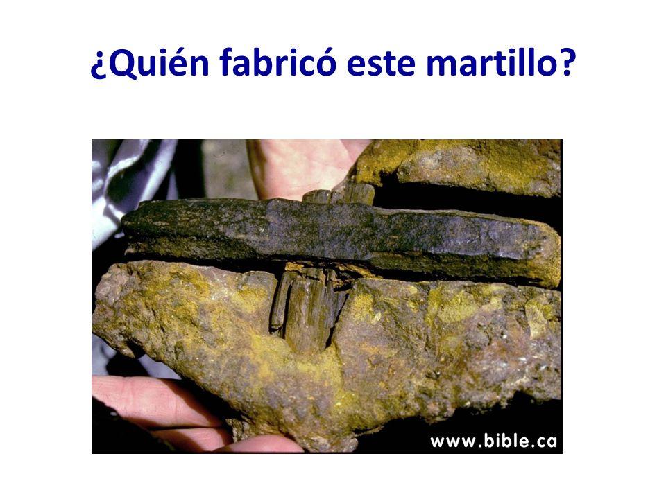 ¿Quién fabricó este martillo?