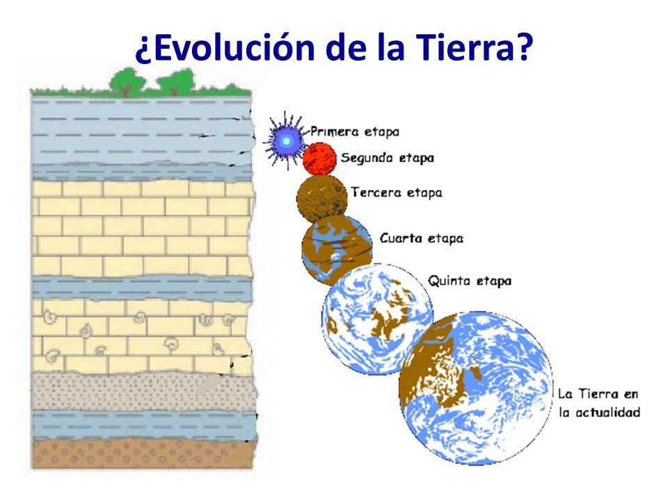 ¿Evolución de la Tierra?