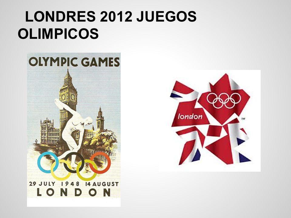 LONDRES 2012 JUEGOS OLIMPICOS