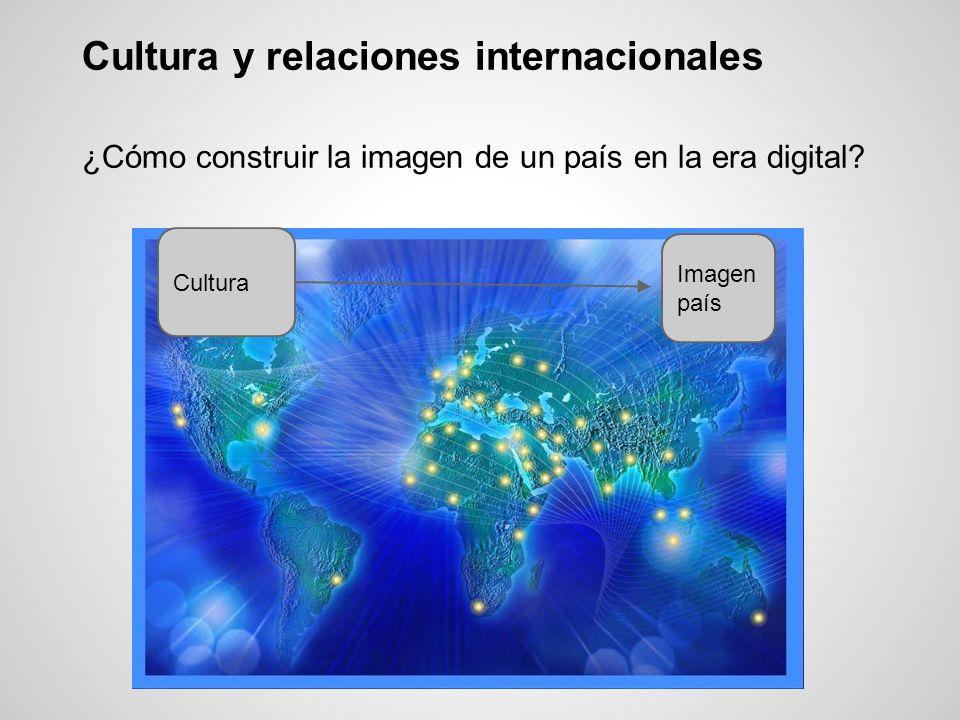 Cultura y relaciones internacionales ¿Cómo construir la imagen de un país en la era digital? Cultura Imagen país