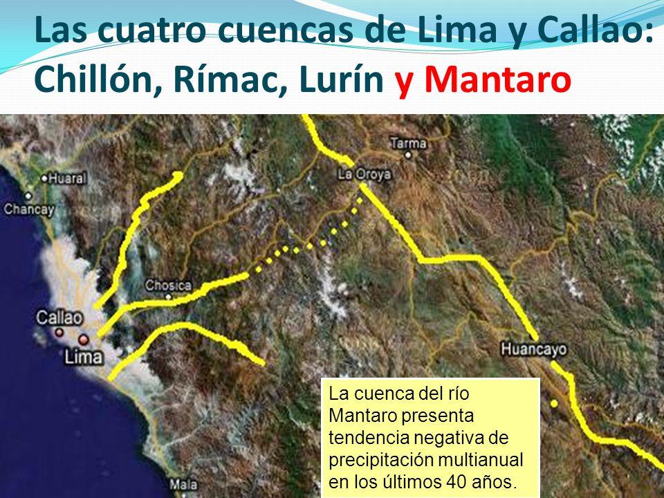 VULNERABILIDAD de Lima y Callao ante el Cambio Climático (1) Inexistencia de políticas e instrumentos de gestión territorial ni urbana: Plan de Desarrollo Concertado Regional (ni Metropolitano) integrado Plan de Ordenamiento (Acondicionamiento) Territorial Regional Plan de Desarrollo Urbano Plan de Gestión de Riesgos 1-2 millones asentados en zonas de riesgo (riberas de los ríos, laderas, zonas inundables y de huaycos, borde costero marino, etc.) por ejemplo: Viviendas ubicadas en borde costero pueden sufrir inundaciones En Callao: La Punta, A.H.