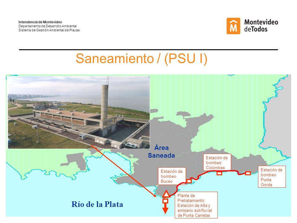 Acciones para mitigar la pérdida de arena en las playas Existen diferentes estructuras que ayudan a contrarrestar la pérdida de arena y que en su mayoría son de fácil aplicación: Intendencia de Montevideo Departamento de Desarrollo Ambiental Sistema de Gestión Ambiental de Playas