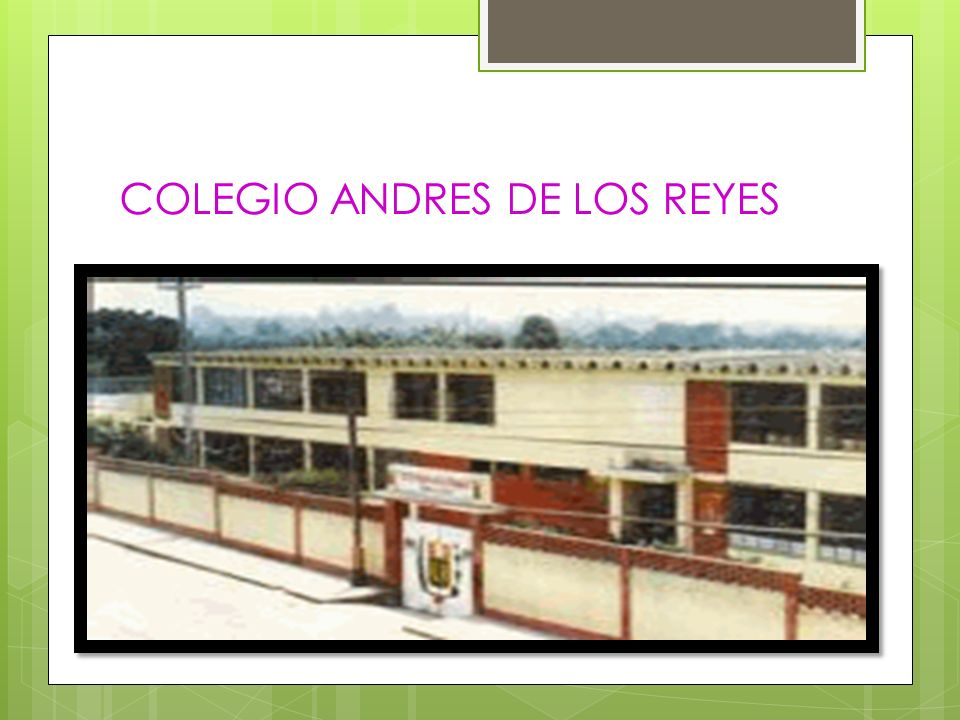 COLEGIO ANDRES DE LOS REYES