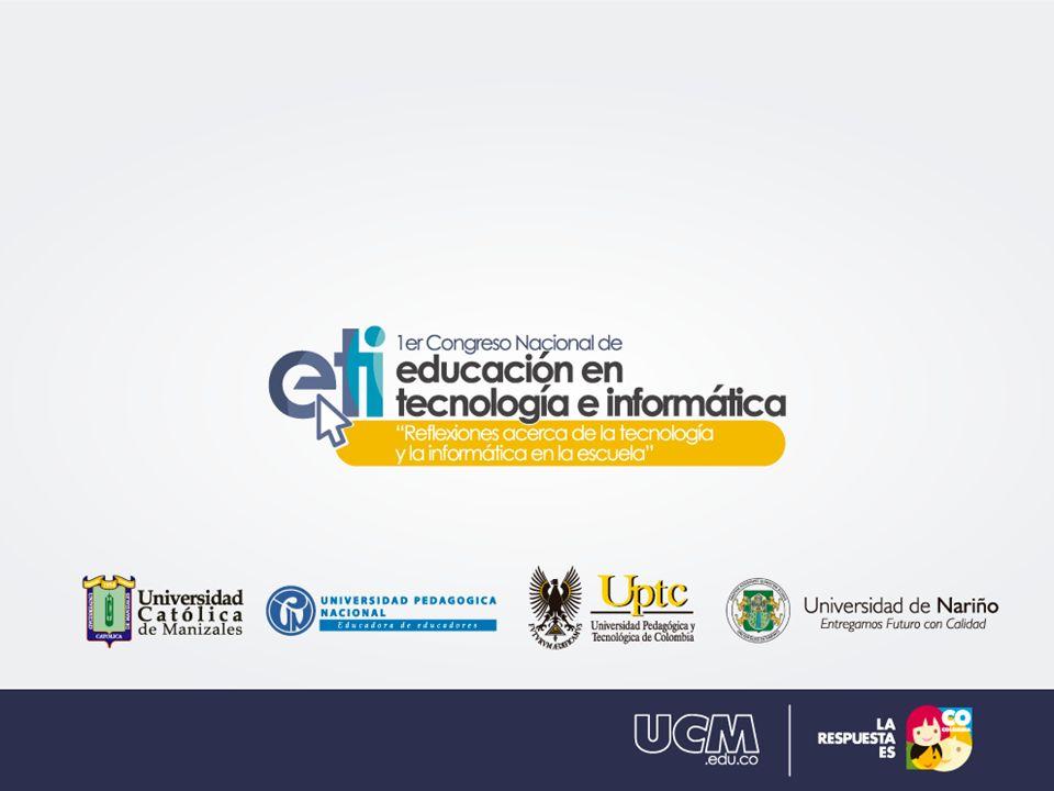 (Título de la ponencia) Ej.: Modelado Digital en 3D (Subtítulo) Ej.: Estrategia Innovadora para la creación de recursos educativos.