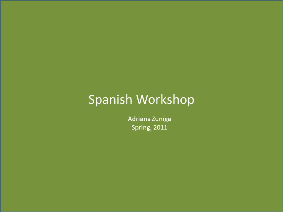 Spanish Workshop Días de la Semana Lointeresante.com ¿Qué haces los martes.
