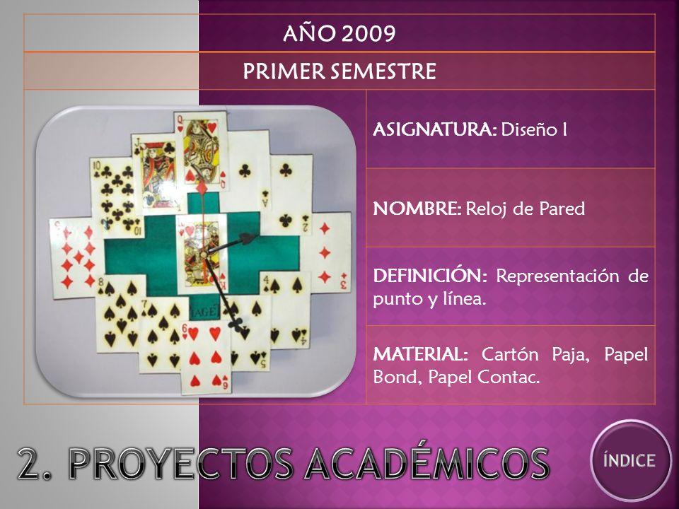 AÑO 2009 PRIMER SEMESTRE ASIGNATURA: Diseño I NOMBRE: Liebre DEFINICIÓN: Representación tridimensional de un objeto.
