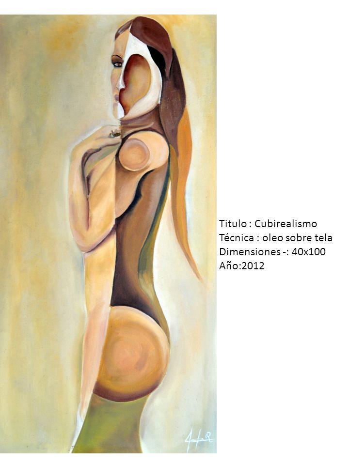 Titulo : 5 sentidos Técnica : oleo sobre tela Dimensiones -: 100x100 Año:2012