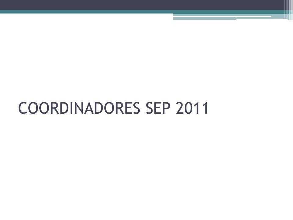COORDINADORES SEP 2011