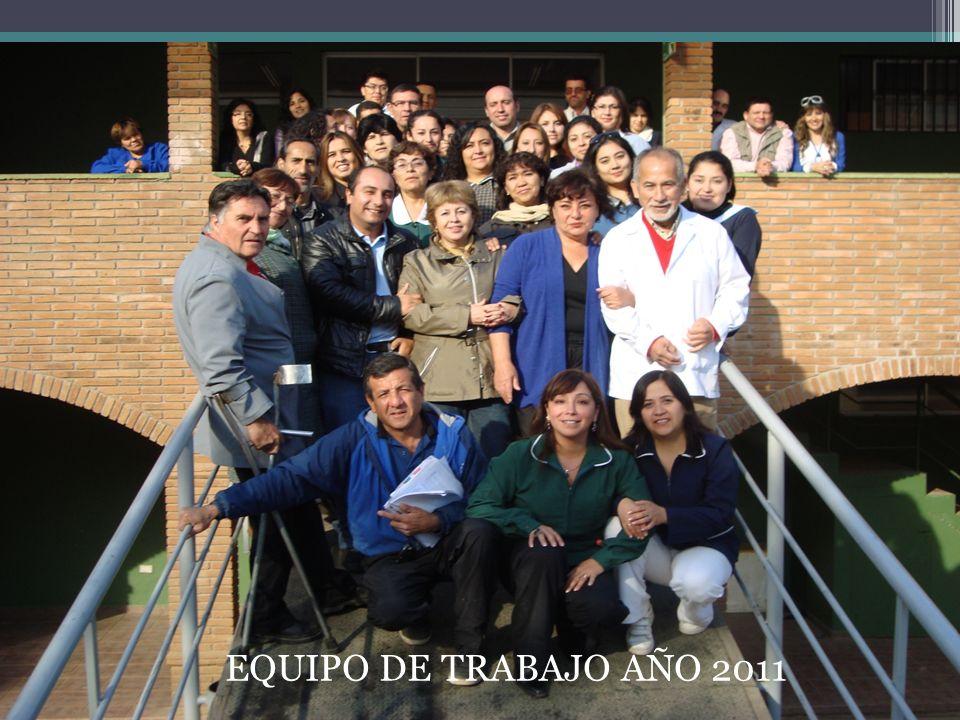 EQUIPO DE TRABAJO AÑO 2011