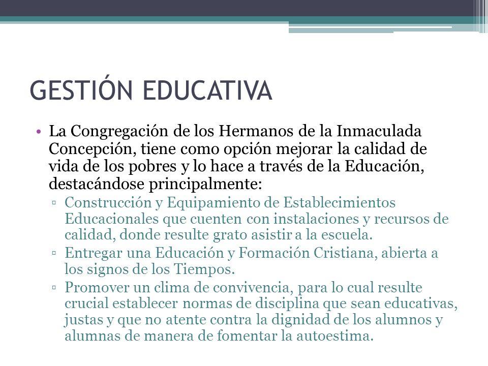 GESTIÓN EDUCATIVA Educar desde una perspectiva evangélica en la acción educadora de cristo.