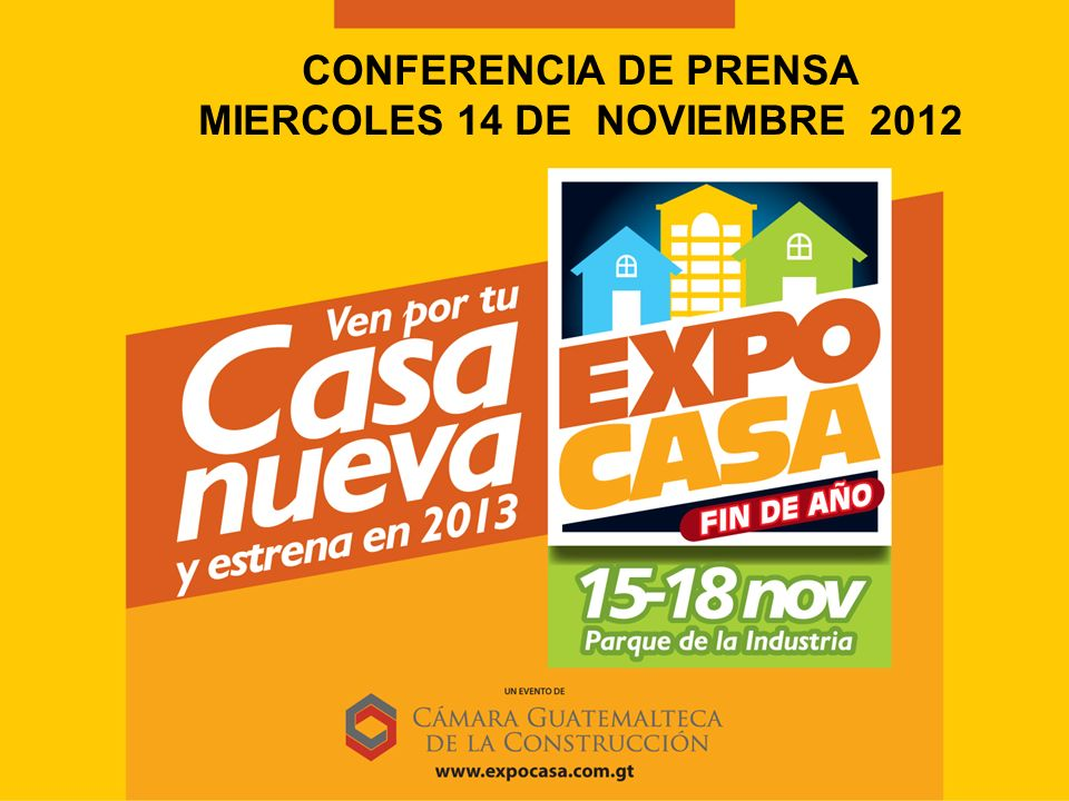Rifa de 1 Kit de casa Domingo 18 de noviembre 19:00 horas Salón Guatemala