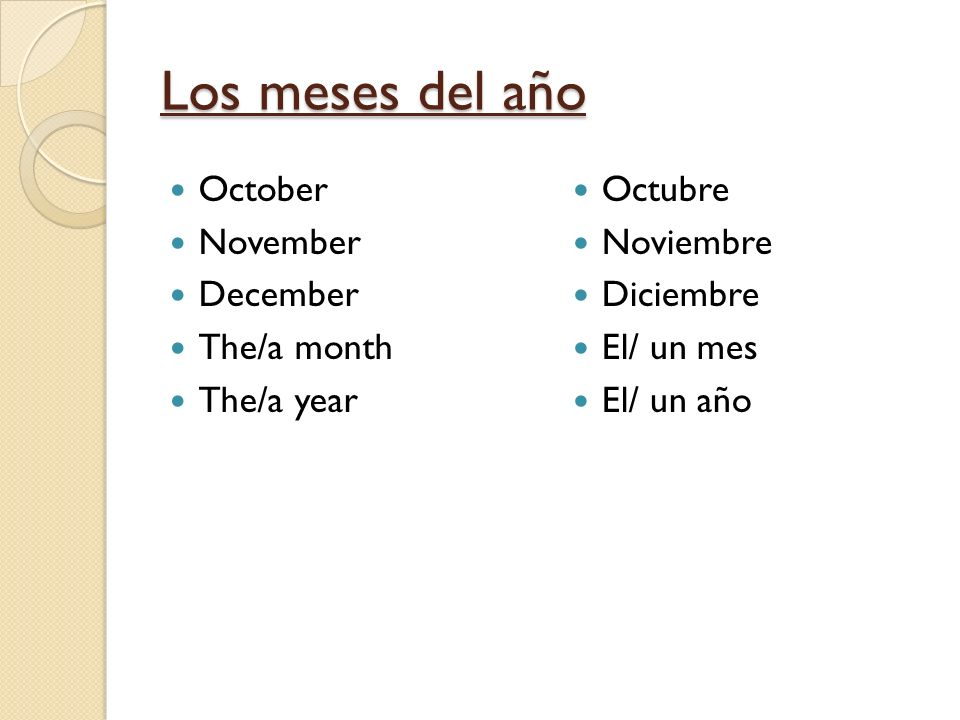 La fecha What is the date.The date is __*___. When is your birthday.