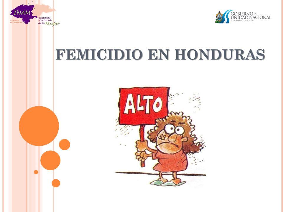 FEMICIDIO EN HONDURAS