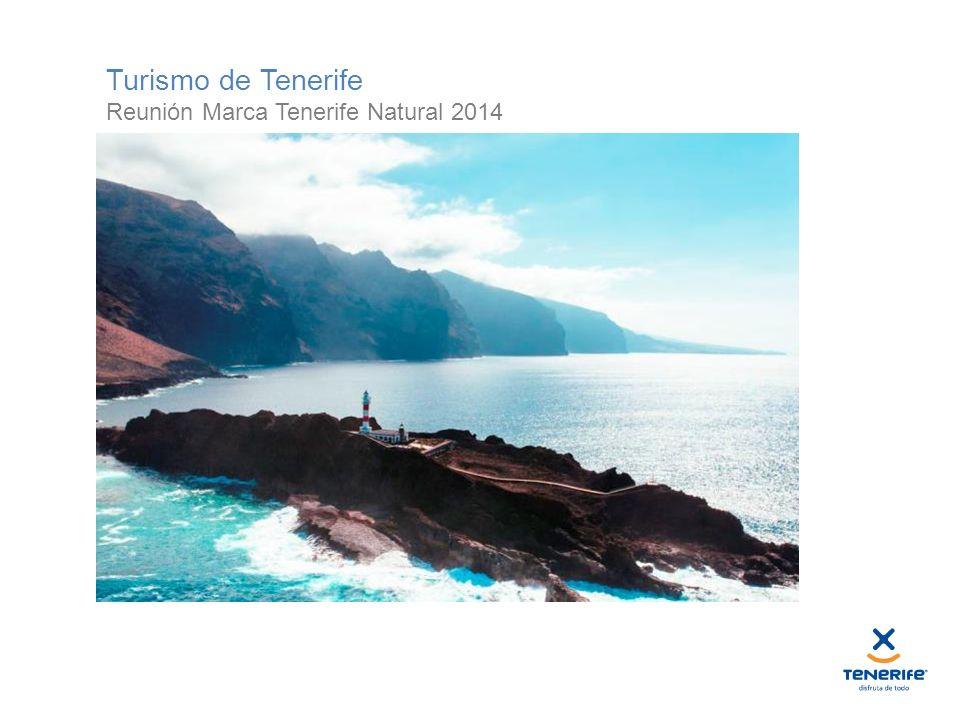 Turismo de Tenerife Reunión Marca Tenerife Natural 2014
