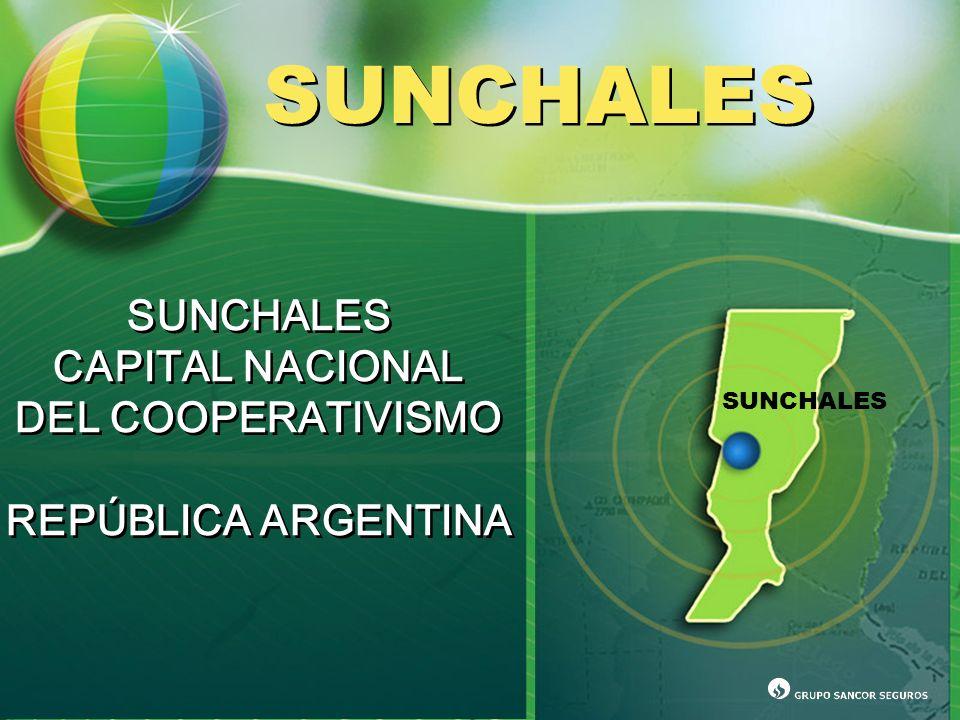 SUNCHALES SUNCHALES CAPITAL NACIONAL DEL COOPERATIVISMO REPÚBLICA ARGENTINA SUNCHALES