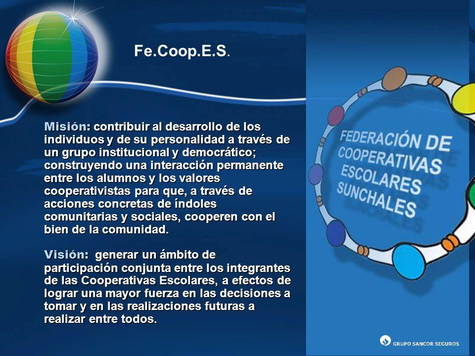 Misión: contribuir al desarrollo de los individuos y de su personalidad a través de un grupo institucional y democrático; construyendo una interacción