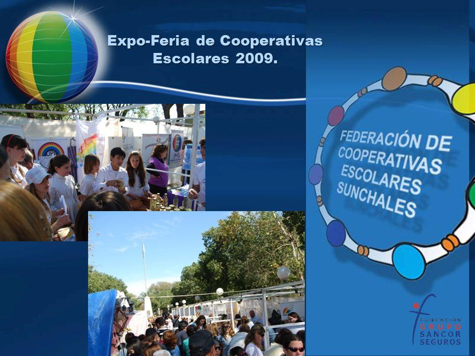 Expo-Feria de Cooperativas Escolares 2009.