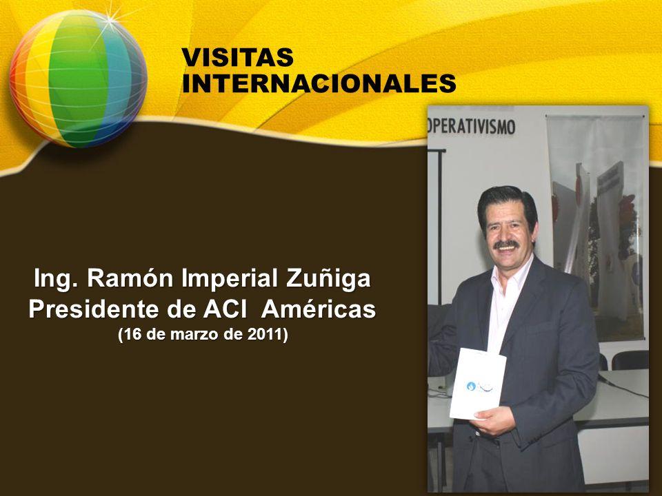 Ing. Ramón Imperial Zuñiga Presidente de ACI Américas (16 de marzo de 2011)