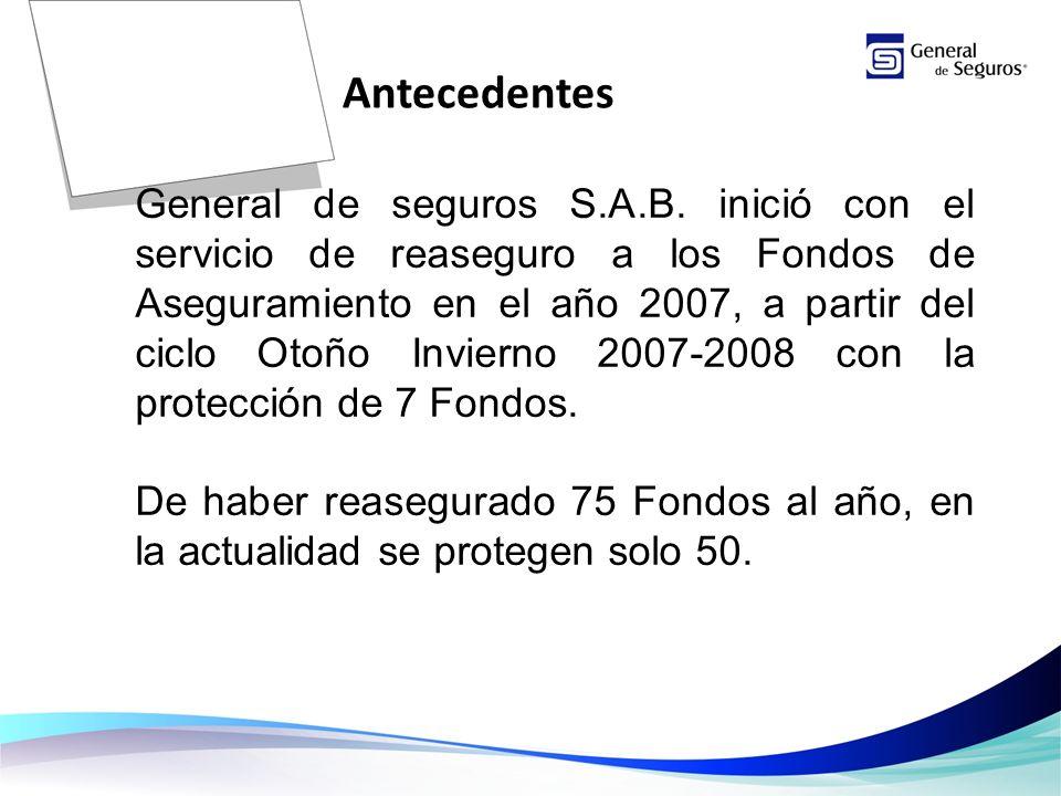 General de seguros S.A.B.