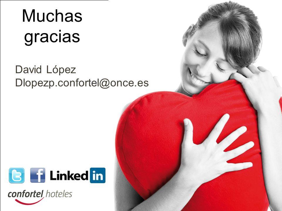 Muchas gracias David López Dlopezp.confortel@once.es