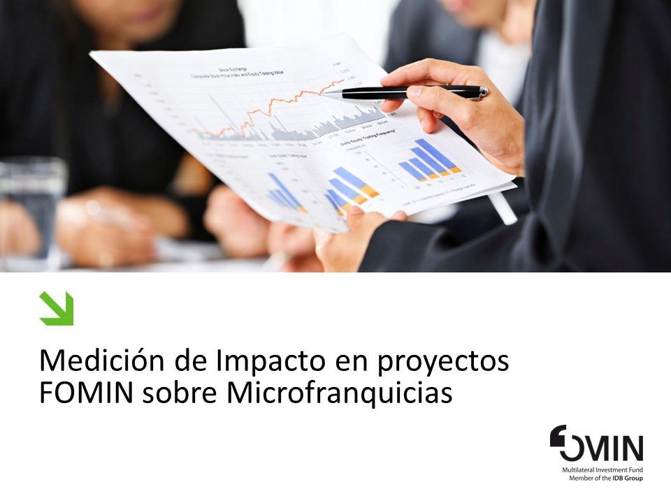 Medición de Impacto en proyectos FOMIN sobre Microfranquicias